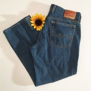 Lucky Brand denim crop jeans sweet n low 12/31